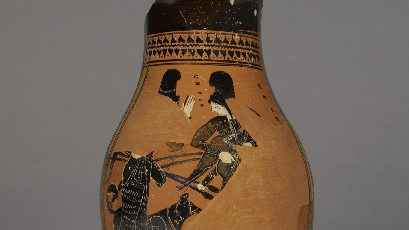 Ancient vases carrying images of Amazons reflect a long-running Greek fascination with the female warriors.